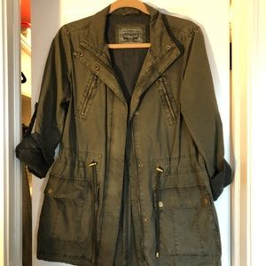 Levi green army jacket S